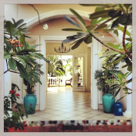 Grace Boutique Resort:                   Entrance