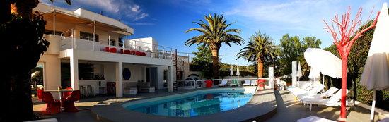 Talamanca, Spain: zona piscina