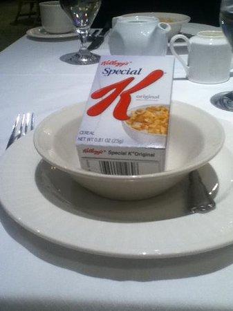 Claremont Club & Spa, A Fairmont Hotel: breakfast