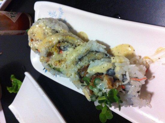 Tokyo Japanese Restaurant: Soft crab sushi