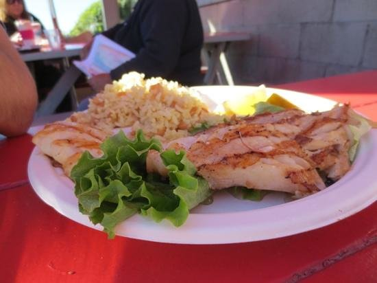 Grilled fish picture of malibu seafood fresh fish market for Malibu seafood fresh fish market patio cafe