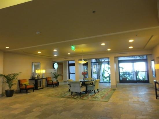 Newport Beach Marriott Hotel & Spa: lobby