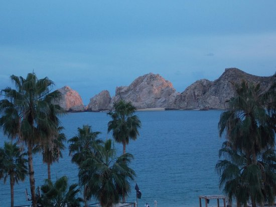ME Cabo:                   sunset from room