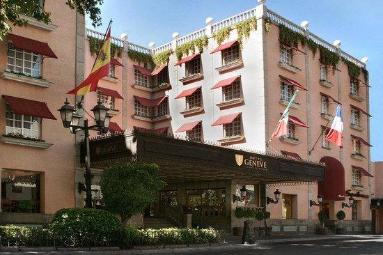 Hotel Geneve Ciudad de Mexico: Fachada