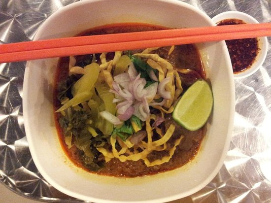 I'm Spicy:                   Chiang Mai Pork Curried Noodle (special order)