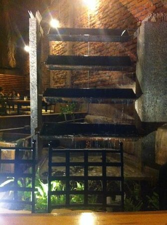 Gato Pardo: pileta en la terraza interna