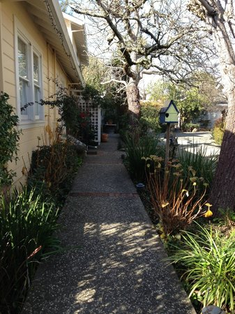 Chelsea Garden Inn:                   Walk way
