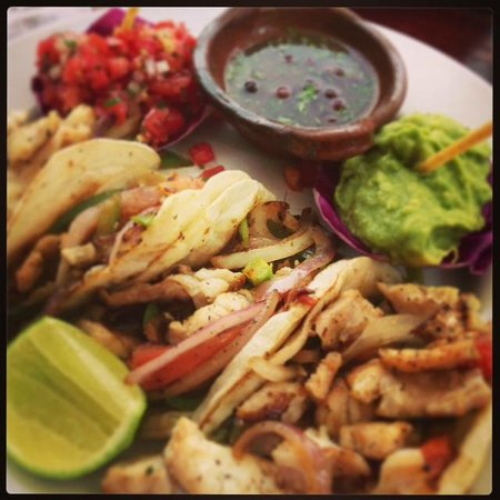Fusion Bar & Restaurant:                   amazing grilled fish tacos