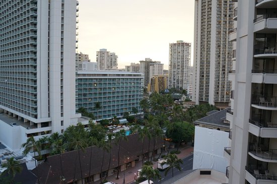 Outrigger Waikiki Beach Resort: City view