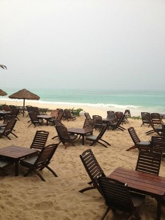 Fusion Bar & Restaurant:                   fusion beach seating
