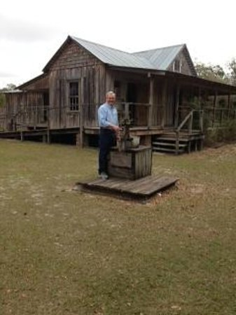 Osceola County Historical Society Pioneer Village:                   Lanier homestead built in 1889