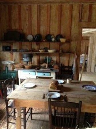 Osceola County Historical Society Pioneer Village:                   Kitchen