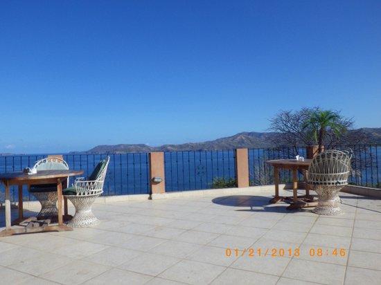 Paradise Flamingo Beach: Vista desde el comedor