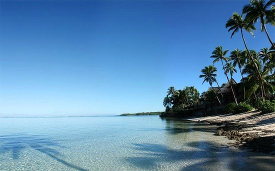 Shangri-La's Fijian Resort & Spa:                   Just outside our door