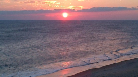 Comfort Inn South Oceanfront: Sunrise from the balcony