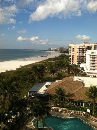 Hilton Marco Island Beach Resort:                   View of the Gulf from room