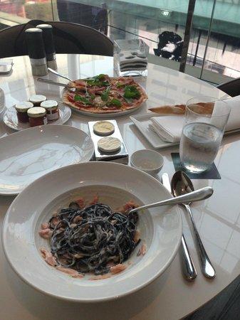 Le Meridien Bangkok:                   Italian food