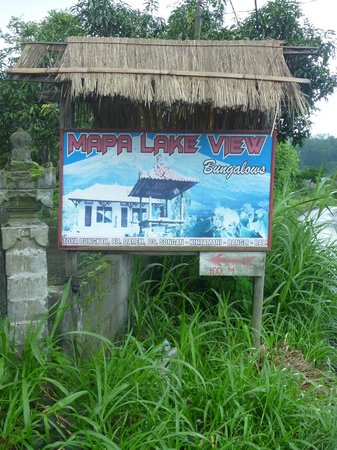 Mapa Lake View Bungalow: Mapa Lake View