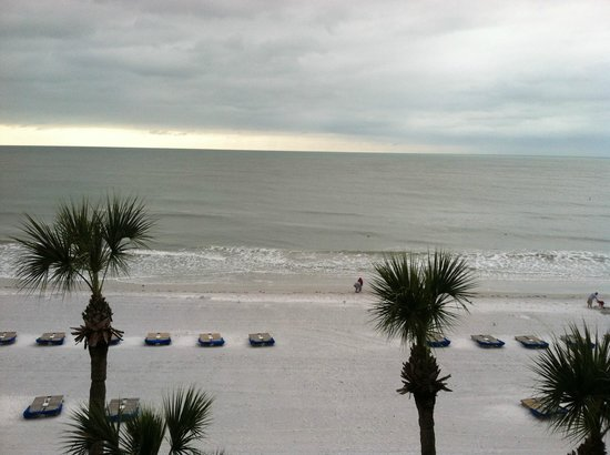 Doubletree Beach Resort by Hilton Tampa Bay / North Redington Beach:                   View from 4th floor room