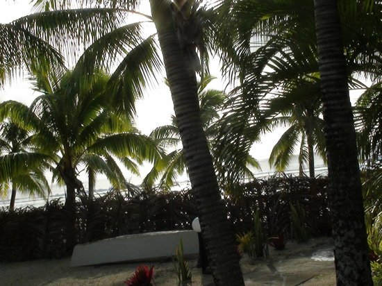 كراون بيتش ريزورت آند سبا:                   Villa #2 with its blocked view of the beach                 