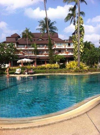 Aloha Resort :                   Part of the poolarea
