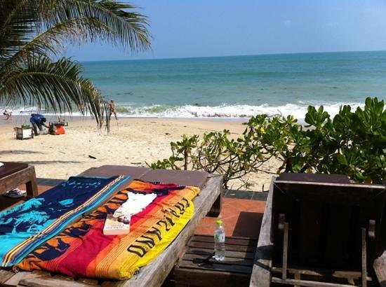 Aloha Resort:                   view at the beach
