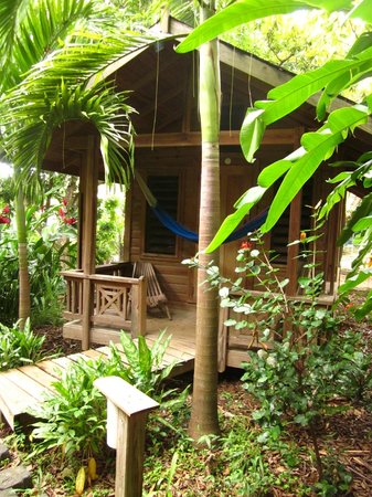 Hotel Chillies:                   Our cabana!