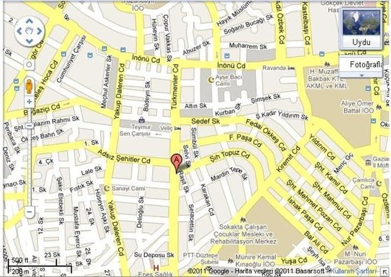 Buyuc Velic: Map
