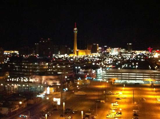 Plaza Hotel & Casino: View from room