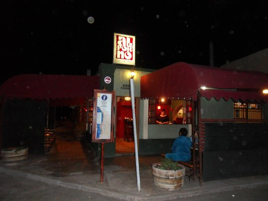 Al Forno Pizzas: Front