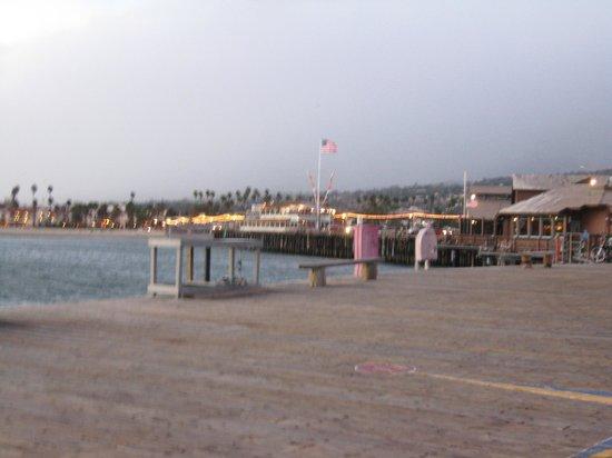Shoreline Park: santa barbara pier