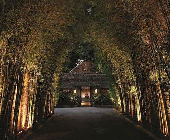 โรงแรมแทมมารีน วิลเลจ: Bamboo Entrance
