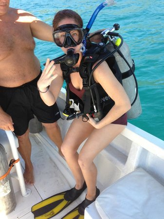 Dive Academy Ballena Blanca:                   Getting certified