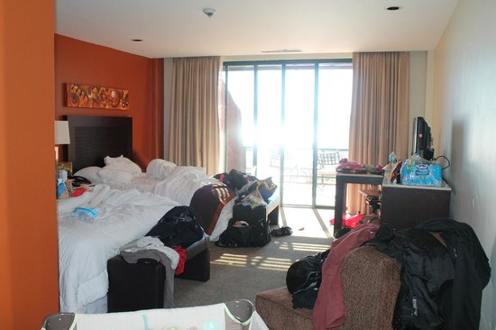 Hotel Coral & Marina:                   Room (excuse our mess)
