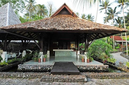 DABIRAHE Dive, Spa and Leisure Resort (Lembeh): Reception