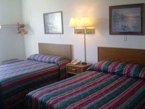 Budget Host Caribou Inn: Two Doublebeds