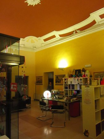 Academy Hostel:                   Common Area
