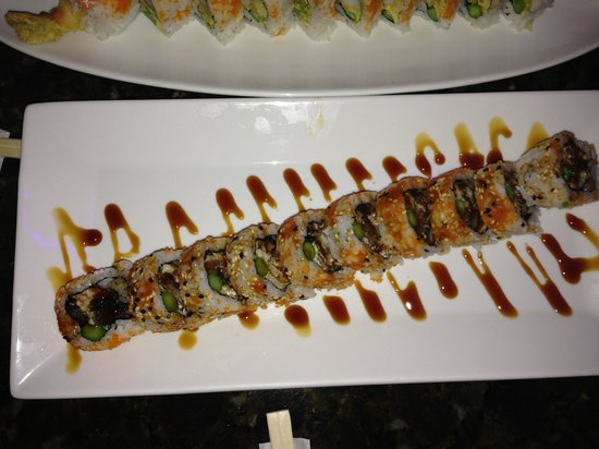 9Face Sushi : Crazy roll