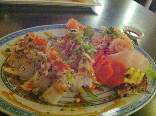 Firehouse Grill: The Bell Tower roll.