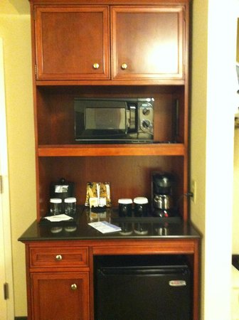 Hilton Garden Inn Florence: Microwave, Coffee Maker, Mini Fridge