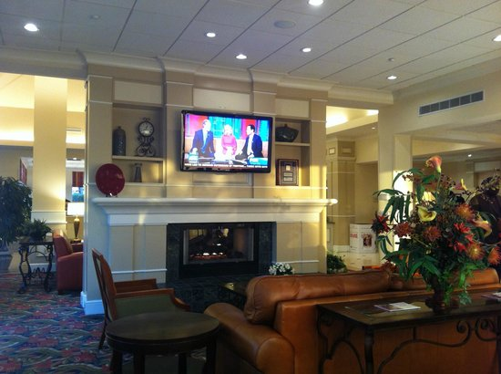 Hilton Garden Inn Florence: Lobby
