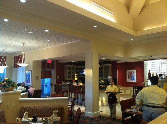 Hilton Garden Inn Florence: Dining Area