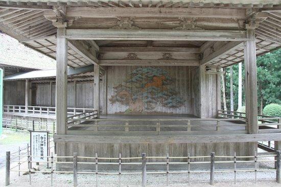Hiraizumi-cho, Japón: 能舞台