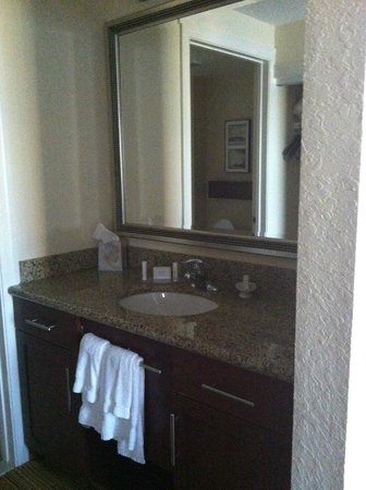 Residence Inn Florence: Vanity in room 308