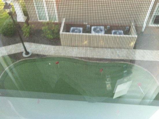 Residence Inn Florence : Small putting area can be seen from room 308