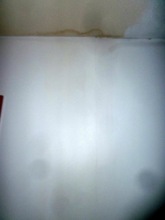 Whitewood Inn:                   Water stain on the ceiling. Water leak from above?!