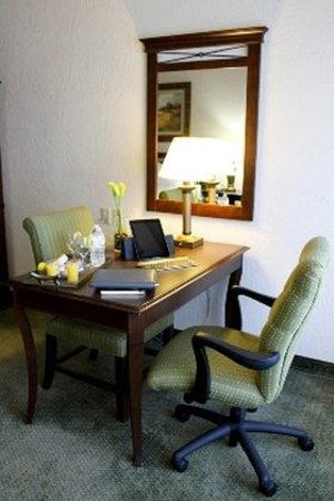 University Square Hotel: King Room Work Station
