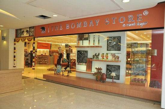The Bombay Store Bangalore: The Store Front