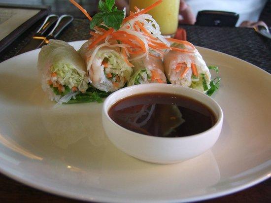 Jeeva Klui Resort: Tapas - Vietnamese Spring Rolls