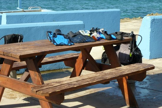 Eden Rock Diving Center: Dive gear